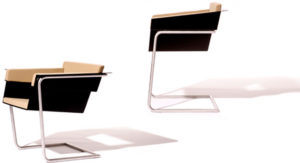 Prototyp des Stuhls