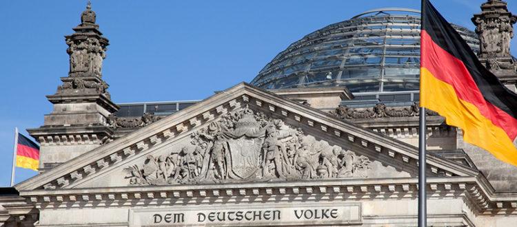 Reichtagsgebäude in Berlin
