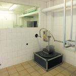 Neues Wasserlabor mit Spritzbogenanlage für IPX3K und IPX4K
