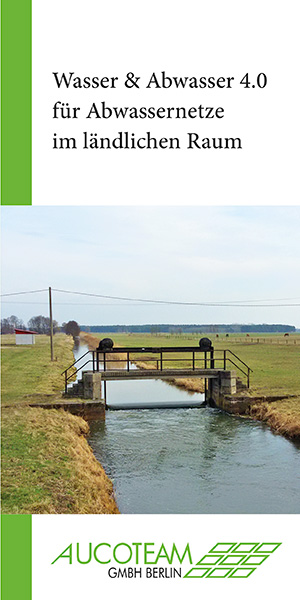 Titelbild Flyer Abwassernetze