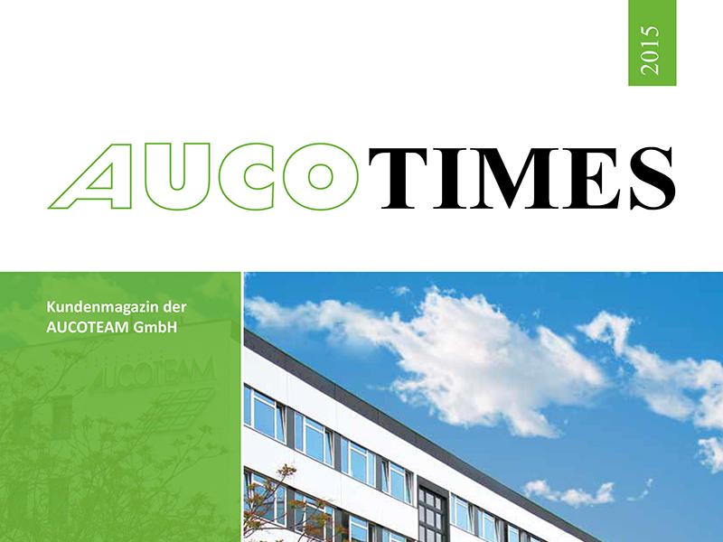 Kundenmagazin AUCOTEAM 2015