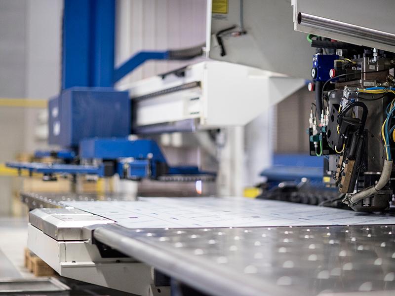 CNC-Blechverrbeitung