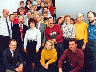 AUCOTEAm-Belegschaft 1992