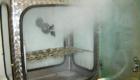 Salznebelprüfungen im AUCOTEAM Prüflabor