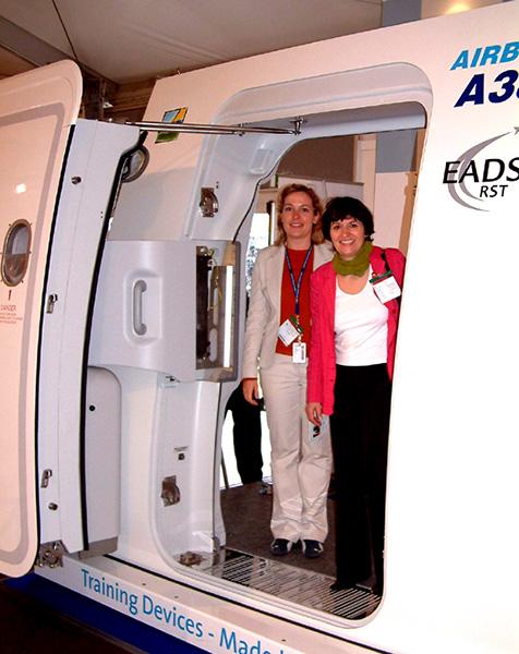 AUCOTEAM-Prüflabor prüft für Airbus