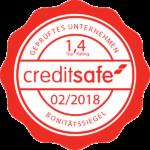 Creditsafe Bonitätssiegel