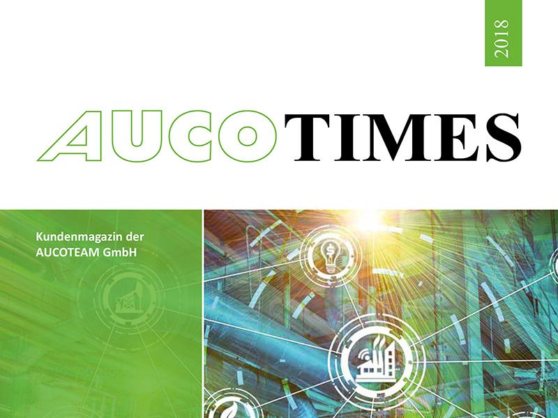 Kundenmagazin AUCO TIMES 2018