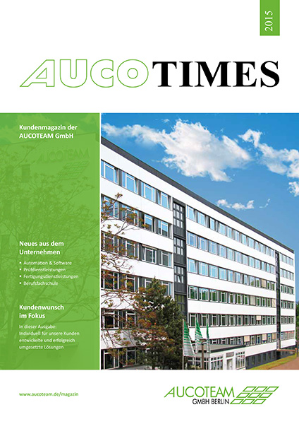 AUCO TIMES 2015 Cover