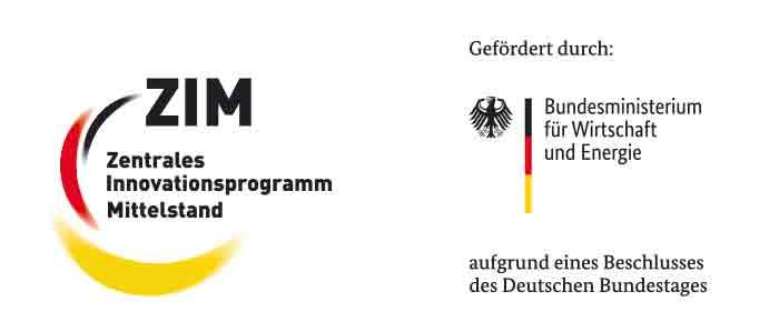 Logos ZIM und BMWE