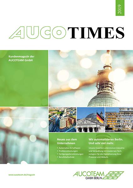 AUCO TIMES 2019 Titel