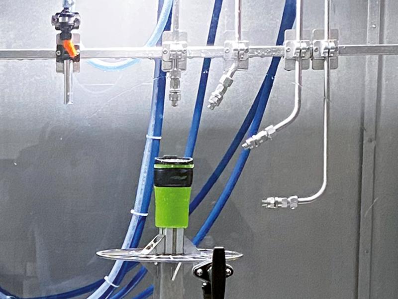 Dampf-Druck-Kammer mit Becher