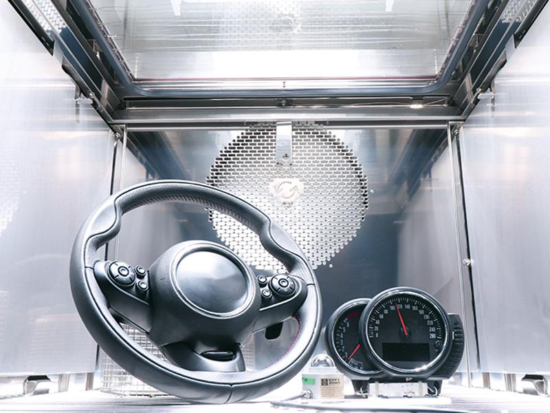 Sonnensimulation Automotive
